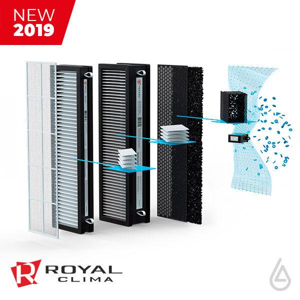 Система фильтрации Royal Clima BREZZA