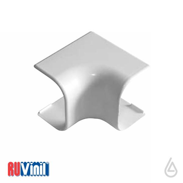 Угол внутренний УВН-74х55 (белый)