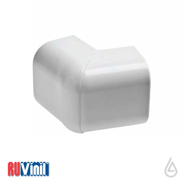 Угол внешний УВШ-74х55 (белый)