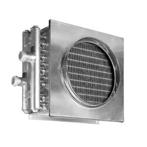 Водяные нагреватели для круглых и квадратных каналов