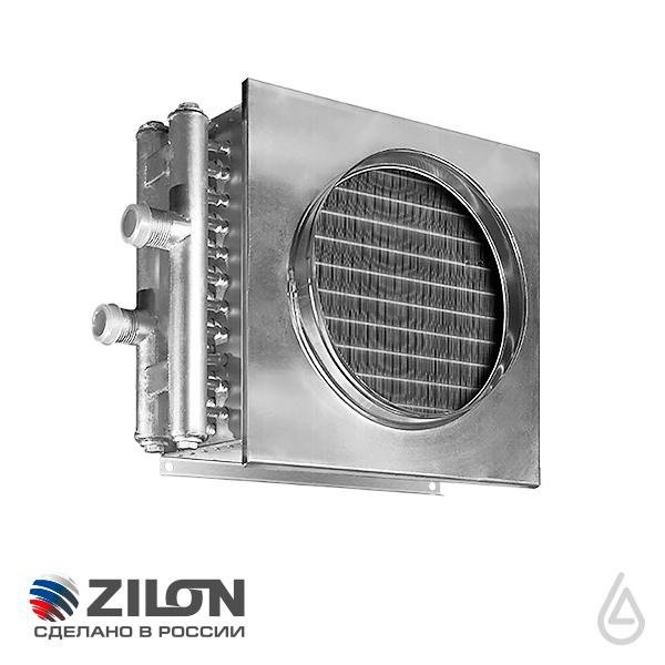 Вентиляция>Оборудование для круглых каналов>Водяные нагреватели для круглых и квадратных каналов