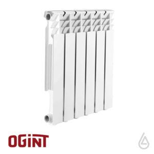 Радиатор алюминиевый OGINT Delta Plus 500/80 6 секций
