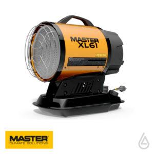 Жидкотопливный инфракрасный нагреватель воздуха MASTER XL 61