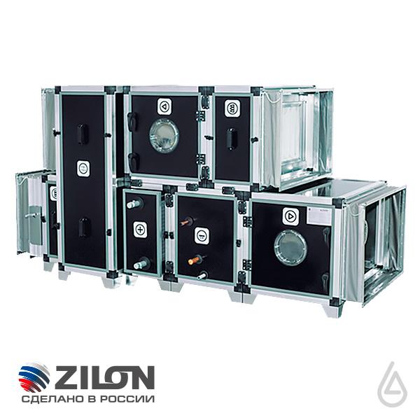 Каркасно-панельные установки и центральные кондиционеры ZILON ZKPU